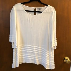 Market & Spruce white blouse